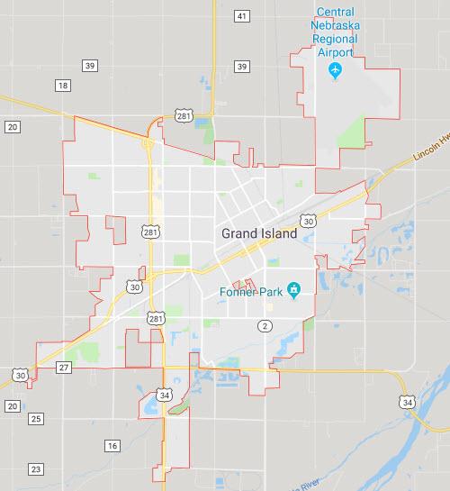 grand island nebraska map Workers Comp Personal Injury Attorneys Grand Island Ne grand island nebraska map